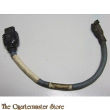 Kabel voor Microfoon zuurstofmasker 10A/12570 RAF (Microphone cabel  Oxygen Mask 10A/12570 RAF Aircraft WWII Pilot Aircrew)