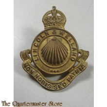 Cap badge Lincoln & Welland Regiment, 4th Canadian Armoured Division