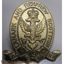 Collar badge Lanark and Renfrew Scottish Regiment 5th Canadian (Armoured) Division