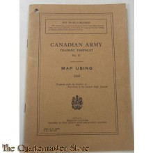 Manual Map using Pamphlet No 13 Canada
