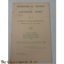 Periodical Notes on Japanese Army 1942