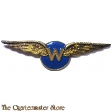 WW2 Waarnemers wing TOYE silver  (World War II Royal Dutch Airforce observers  wing)