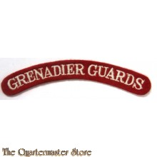 Shoulder title Grenadier Guards