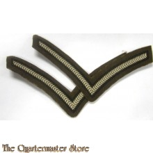 British rank chevrons Lance Corporal (canvas)