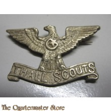 Thall Scouts Cast Cap Badge - Pakistan Frontier Corps