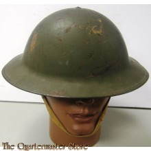WWI U.S. Civil Defense Air Raid helmet