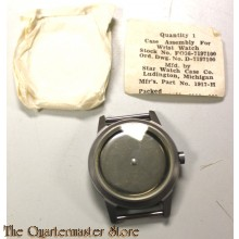 Case assembly for wrist watch stockno F-036-7197100