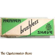 Scheercreme MENNEN , for US Forces only (MENNEN shaving creme US forces only)