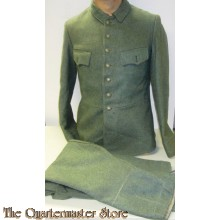 Feldbluse und Hose ex 1940 Hollandische Armee  ROA (Wehrmacht Reissued 1940s Dutch Field Blouse and Breeches for Russian Volunteers )