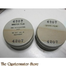 US Navy set film tin cans master and spare