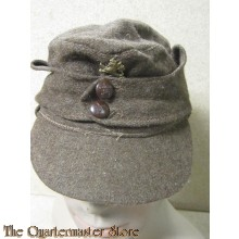 WW2 Wool Cap Bulgarian Tank crew (German style M43)