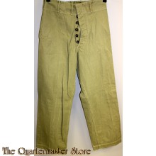 Canadian Summer Uniform Trousers 1943
