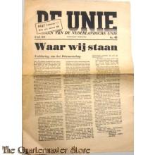 Krant de Unie no46 3 juli 1941