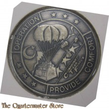 Challenge coin Combined Joint Task Force Operation Provide Comfort Kurdish Humanitarian Relief 1991