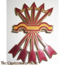 Spanish Falange Officer's Cap Badge 1930-40