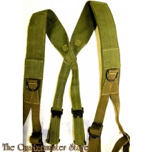 US ARMY WW2 M1945 SUSPENDERS