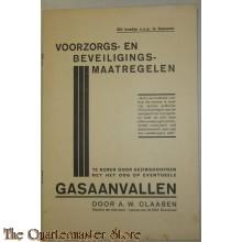 Boekje voorzorg en beveiligings maatregelen Gasaanvallen