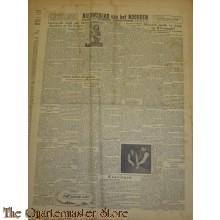Krant Nieuwsblad van het Noorden zaterdag 18 maart 1944