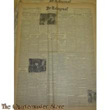 Krant de Telegraaf Woensdag 22 maart 1944