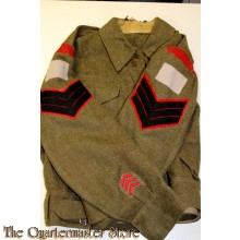 Battle dress blouse The Royal Regina Rifles  7th Infantry Brigade, 3rd Canadian Infantry Division