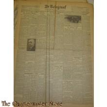 Krant de Telegraaf maandag 27 maart 1944