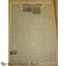 Krant Nieuwsblad van het Noorden dinsdag 4 jan 1944