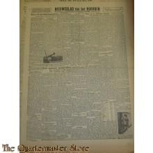Krant Nieuwsblad van het Noorden donderdag 6 jan 1944