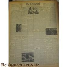 Krant de Telegraaf donderdag 6 jan 1944