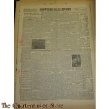 Krant Nieuwsbaks van het Noorden 7 jan 1944