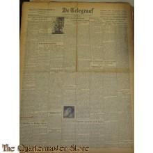 Krant de Telegraaf woensdag 12 jan 1944