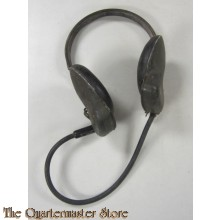 Headset w/Ear Pieces USN H-16-U MX-240/U & MX-239/U.WWII Era US Navy