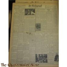 Krant de Telegraaf Dinsdag 18 jan 1944