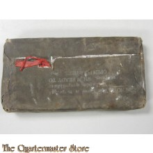 WWII Individual Protective Gas Cover, 1945 blister gas cape