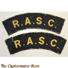 Schouder title Royal Army Service Corps (RASC) (canvas)