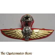 Royal Thai Army Parachute Wings Badge, Master Degree.