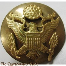 WWII US Enlisted man service cap badge