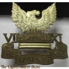 Cap badge Wellington West Coast and Taranaki Regiment New Zealand