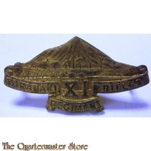 Cap badge WWI 11th Taranaki Rifles Regiment