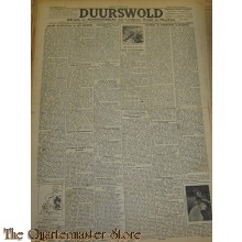 Krant Duurswold zaterdag 23 okt 1943