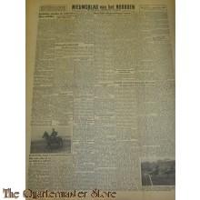 Krant Nieuwsblad van het Noorden maandag 13 sept 1943