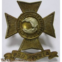 2nd South Canterbury Regiment Cap Badge