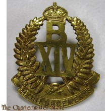 Cap badge B Company 14th Reinforcements New Zealand