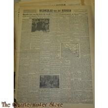 Krant Nieuwsblad van het Noorden maandag 20 nov 1943