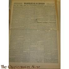 Krant Nieuwsblad van het Noorden dinsdag 9 nov 1943