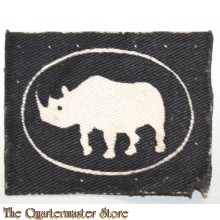 Formation patch 1st Armoured Division (white rhino)