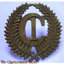Cap badge C1 Camp