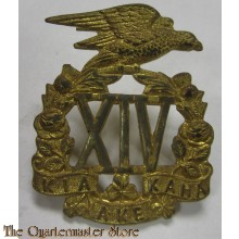 Cap badge 14th New Zealand Regiment (South Otago Rifles)