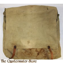 canvas backpack with leather straps marked .Canvas Superior Products E-4