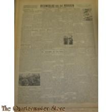 Krant Nieuwsblad van het Noorden zaterdag 20 nov 1943