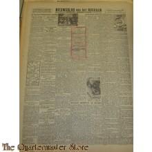 Krant Nieuwsblad van het Noorden dinsdag 23 nov 1943